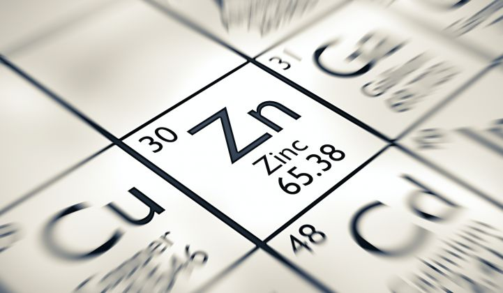 ZincNyx Energy Solutions says it has a new zinc-based flow battery.