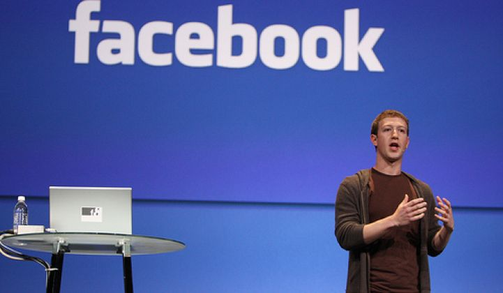 Facebook, Cleantech, and the Social Network