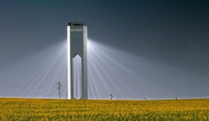 Update: Abengoa Buys Out BrightSource in Palen Power Tower CSP Project