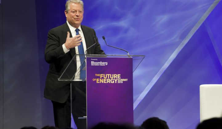 Al Gore: Solar Is Like Satellite TV