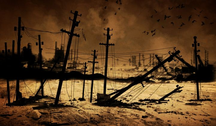 How would electricity work if zombies took over the world?