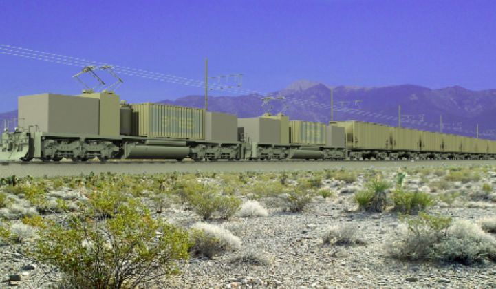 First Grid-Scale Rail Energy Storage Project Gets Environmental Approval From BLM