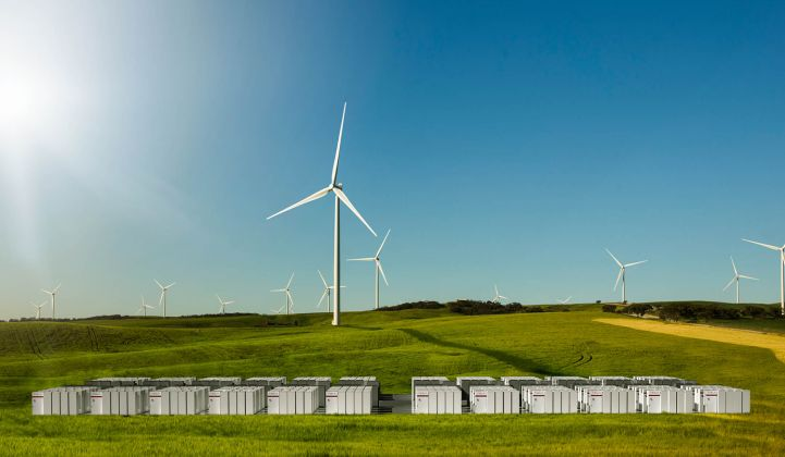 South Australia energy storage could displace gas peaker plants