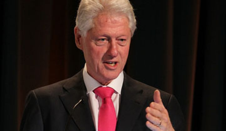 Bill Clinton on Scaling Sustainability
