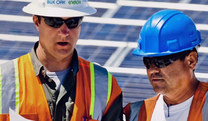 Panasonic Eco Solutions and Coronal Group Take Majority Stake in Blue Oak Energy