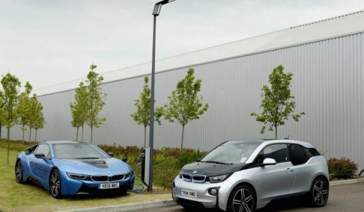 EV Charging Roundup: Cheaper DC Options, Streetlight Chargers From BMW