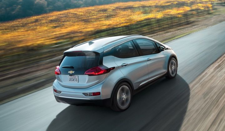 GM Unveils the Chevy Bolt, a 200-Mile-Range EV With a $30,000 Price Tag