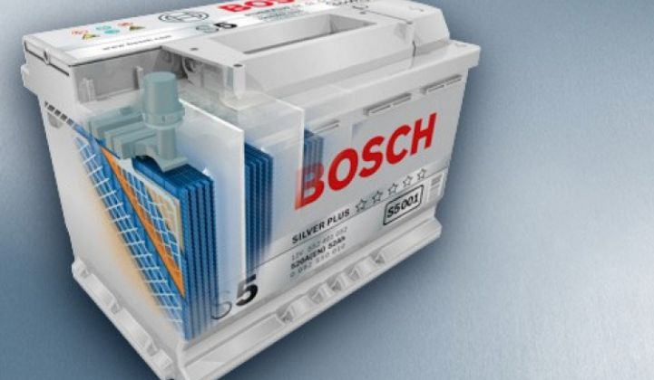 Bosch Acquires Seeo's Solid-Electrolyte EV-Battery Technology
