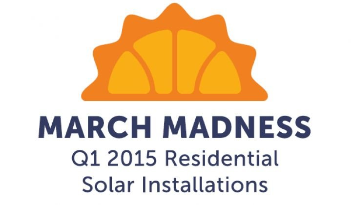 March Madness: Which States Will Install the Most Residential Solar in Q1 2015?