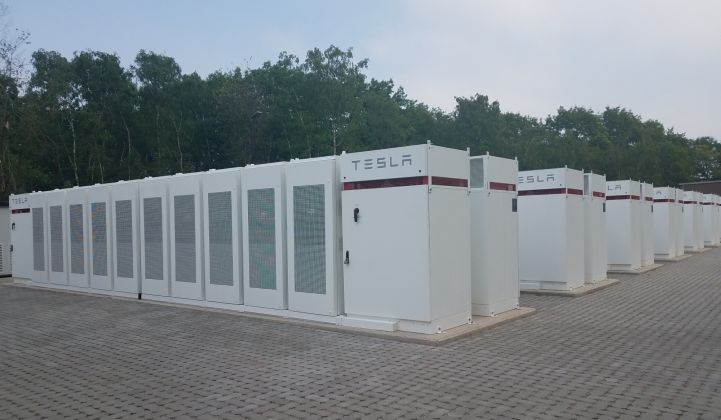 Centrica's REstore pools Tesla batteries in a virtual power plant project.