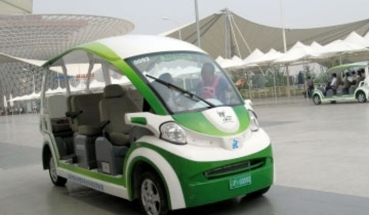 Can China Clean Up in Clean Cars?