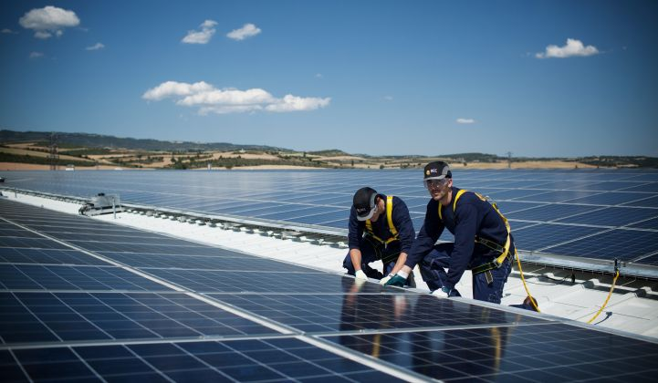 New rules have made self-consumption of solar power more attractive. (Credit: REC Solar)