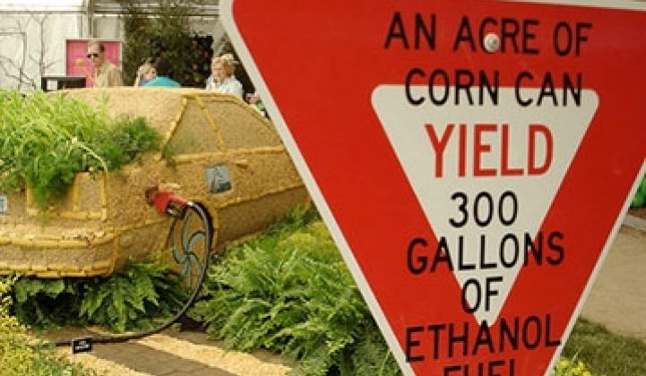 The True Cost of Corn Ethanol | Greentech Media