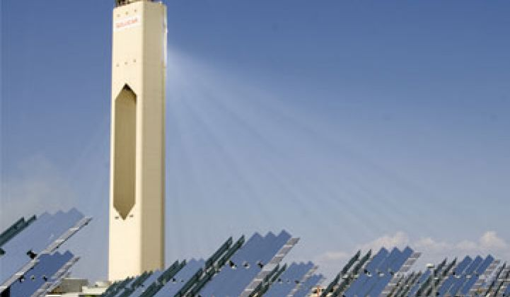 Concentrating Solar Power Rocks and Solar Power International 2010 Opens
