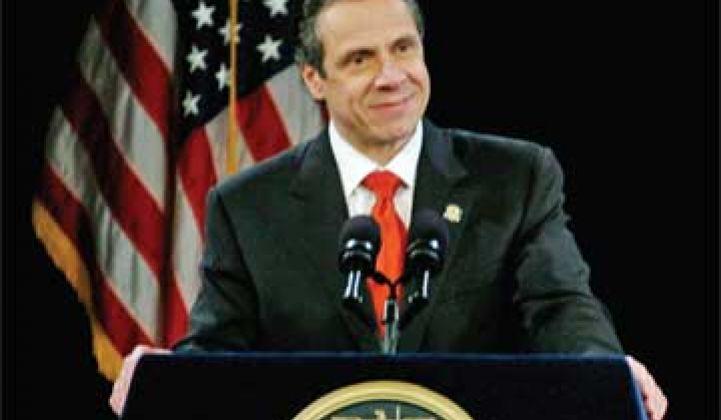 Gov. Cuomo Announces $1B Green Bank, New Energy Czar