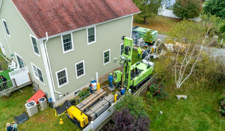 Dandelion is investing in R&D to minimize disruption from drilling geothermal wells at homes.