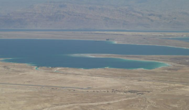 Can the Dead Sea Be Saved Through Desalination?
