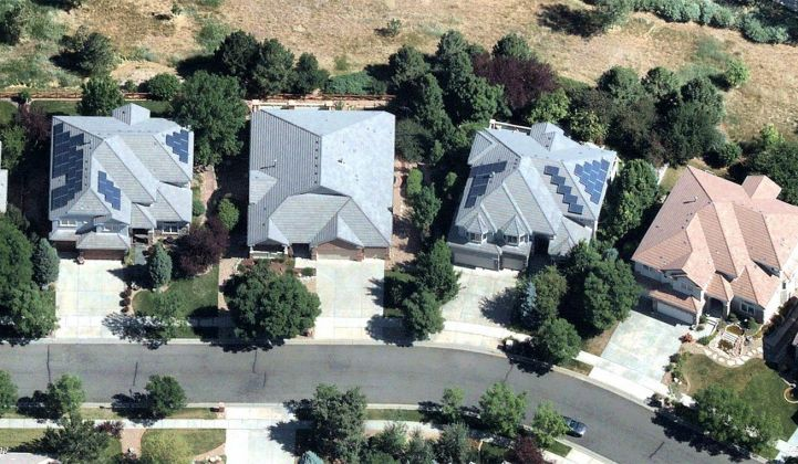 High-resolution aerial maps show details needed for solar design and installation.