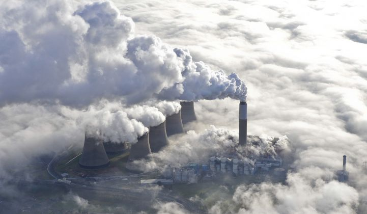 Getting worse, quickly. The U.K.'s Cottam coal power plant closed in September. (Credit: EDF)