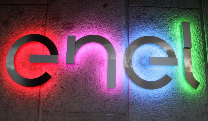 Enel's core earnings were up 3.8 percent last year.