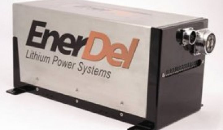 Two More Car Companies To Buy EnerDel Batteries