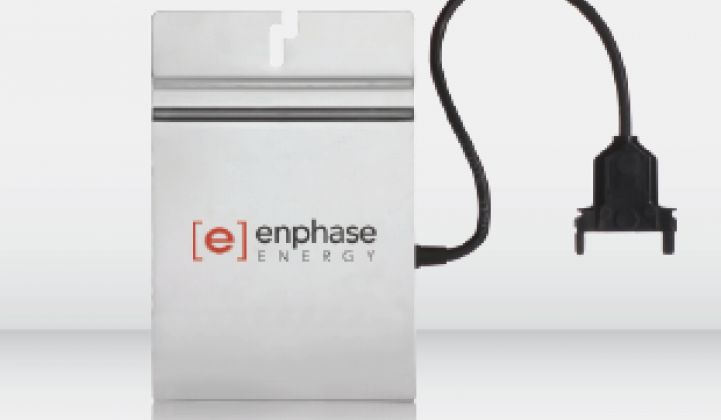 Enphase, PV Microinverter Builder, Still Growing Revenue and Margin