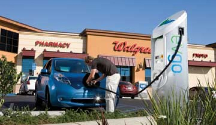 Walgreens Chooses DC Fast Charging Where It Can