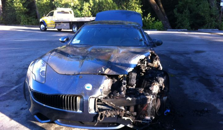 Another Fisker Meltdown: Extended-Range EV Having Some Reliability Issues