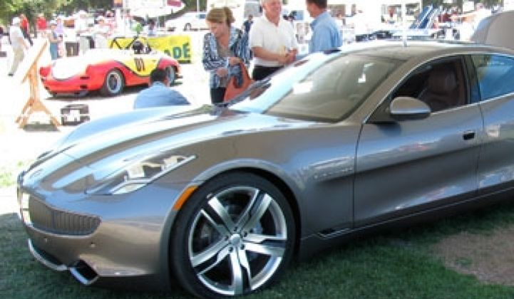 Fisker Karma: Up Close and Personal