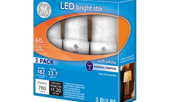 New Consumer LED Light Bulbs Are Now Cheaper Than Compact Fluorescents
