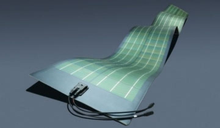 Global Solar Enters the CIGS Flexible Solar Module Business