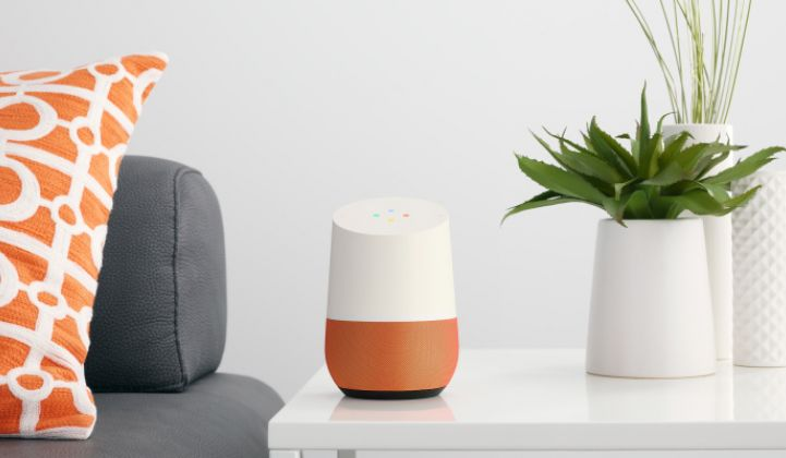 Tendril and Google Unveil the Talking Home Hub as Smart Utility