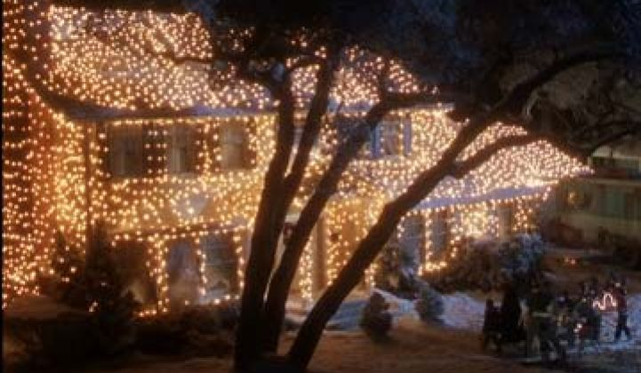 Griswold Christmas.Should Clark Griswold Have Switched To Led Christmas Lights