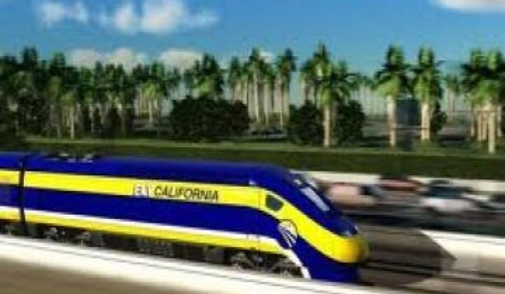 California Reaches for Rejected Rail Money