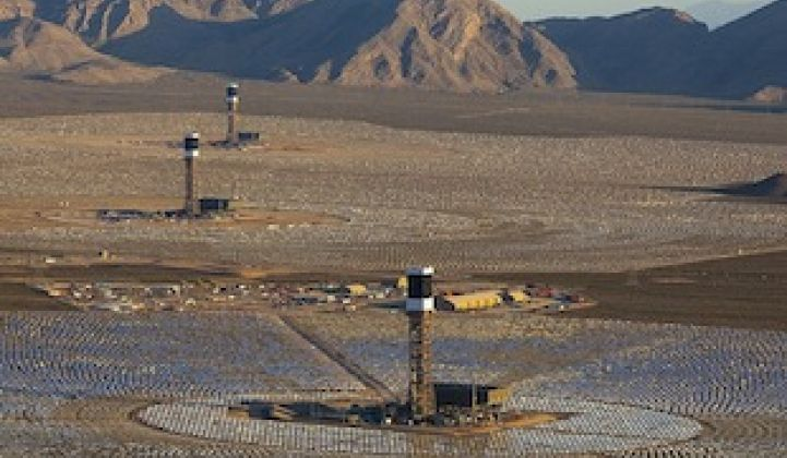 Power in the Desert: Ivanpah on the Verge