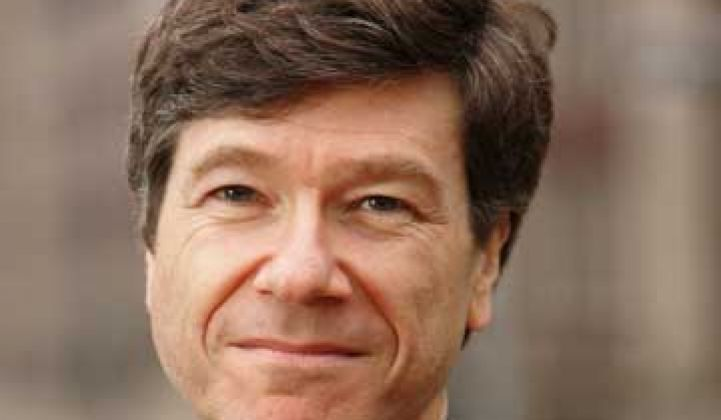 Jeffrey Sachs Takes on Murdoch