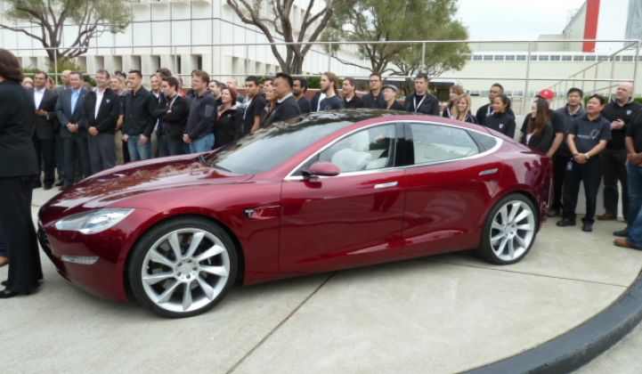 Tesla Plans SUV for 2014 as Factory Formally Opens