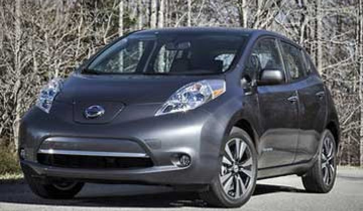 Nissan Drops Leaf Price by 18 Percent
