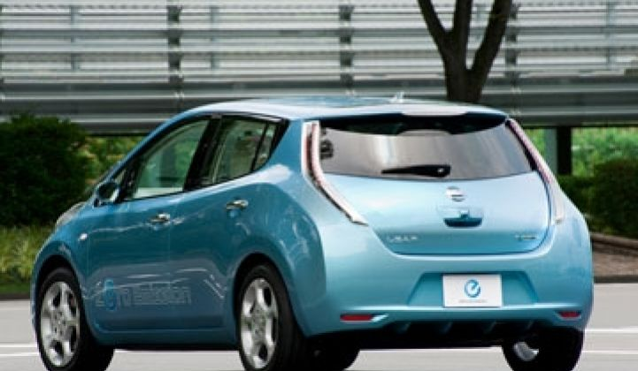 Nissan Prices the Leaf—$32,780—But Will They Make Money?