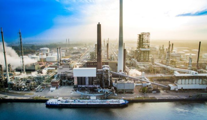 BP's Lingen refinery, in Germany, could be meeting 20 percent of its hydrogen demand from green hydrogen by 2024. (Credit: BP)
