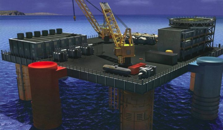 100-Megawatt Power Plant via Variations in Ocean Temperature