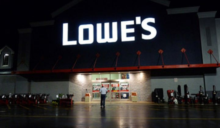 Lowe's Adopts Sungevity Software for Solar