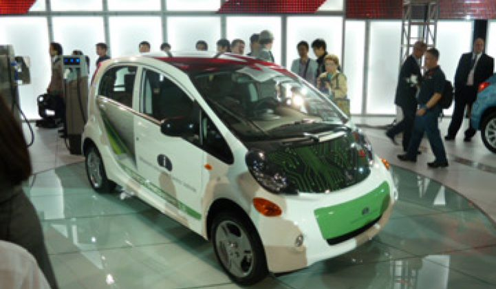 Mitsubishi to Produce Eight EVs by 2015