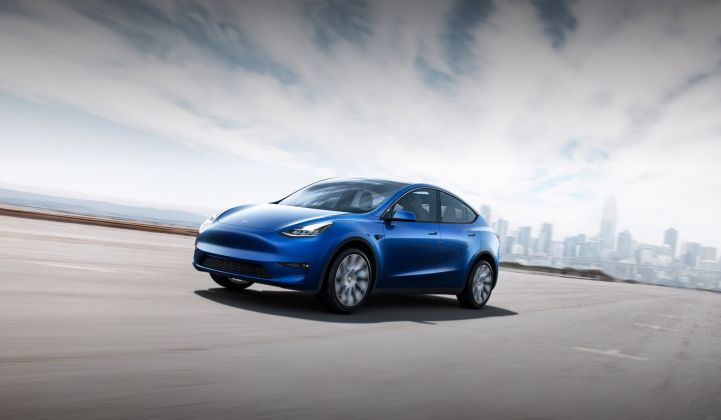 Tesla Careers Login >> Elon Musk At Model Y Reveal This Is The Year Of The Solar Roof And