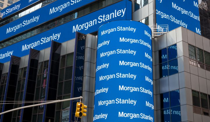 Morgan Stanley: Storage in the Utility Sector 'Will Grow More Than the Market Anticipates'