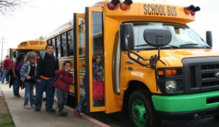 All-Electric School Bus Hits the Road