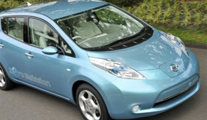 In Detroit: Nissan Selects AeroVironment for Leaf Chargers and Ford's New Focus