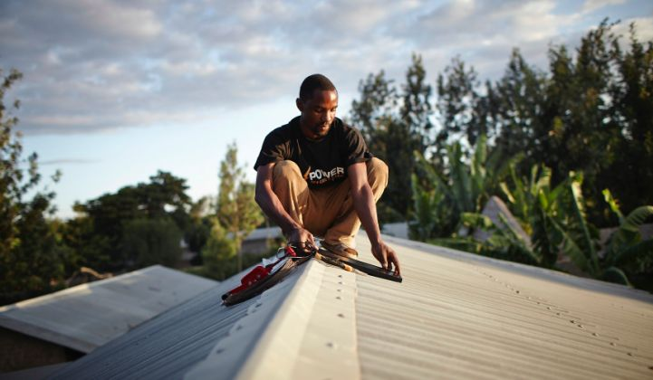 Off-Grid Electric Raises $25M From DBL Partners and SolarCity for Micro-Solar Leasing in Africa