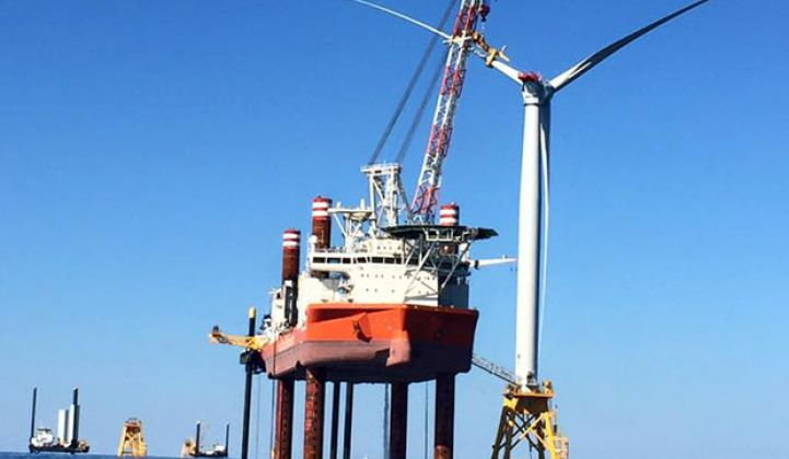 Tesla Batteries May Be Used for Winter Backup on Deepwater's 90MW Offshore Wind Farm