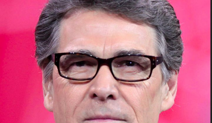 Rick Perry, Governor of Largest Wind Power State, Is Trump's Pick for Head of DOE